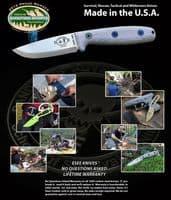 ESEE Camp Lore Reuben Bolieu RB3 Bushcraft Knife